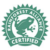 Label Rainforest Alliance